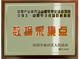 The data collecting site  designated  by the people's government of  shenzhen